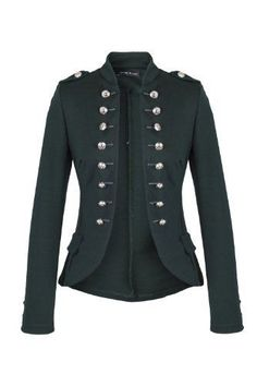 military inspired blazer jacker