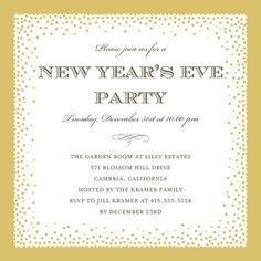 2014 New Year Party Invitation, new year celebration for new year party invites