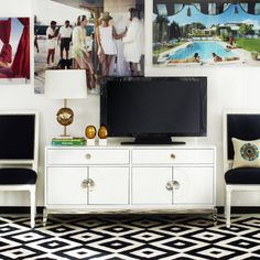 New Channing Media Console. Finally a functional and fabulous nest for your media essentials.