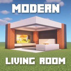 Minecraft Mods, Minecraft Villa, Modern Minecraft Houses, Minecraft Mansion, Minecraft Houses Blueprints, Minecraft Plans, Minecraft House Designs, Amazing Minecraft, Minecraft Architecture