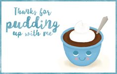 Free printable food pun cards for loved ones- free printable PDFs