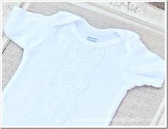 Lace Onesie Tutorial - Uncommon Designs...