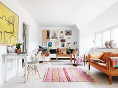 Herlig fargemiks i stuen