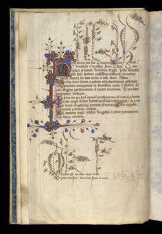 Royal 2 F VII f. 1v, British Library. England, c. 1420-40.
