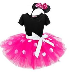 2017 Summer New kids dress minnie mouse princess party costume infant clothing Polka dot baby clothes birthday girls tutu dresse Costumes Avec Tutu, Fancy Costumes, Girl Costumes, Costumes Kids, Carnival Costumes, Costume Minnie Mouse, Minnie Dress, Pink Minnie, Girls Fancy Dresses