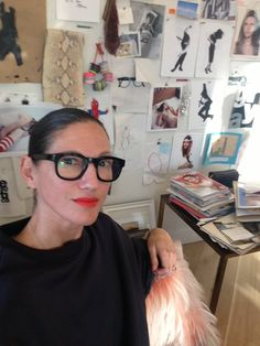 Hanging out with jcrew'sJenna Lyons isn't a bad way to end a Tuesday! Photo courtesy of Jane Keltner de Valle.