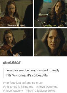#wayhaught #wynonnaearp