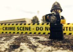 Hyperbolego – Lego Inspired Original Photography Police Crime Scene