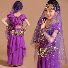 Платье на восточные танцы детские