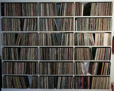 ré écouter tous mes vinyls....