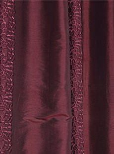 Baldwin Merlot Silk Swatch. Get unbeatable discount up to 80% Off at Half Price Drapes using Coupon and Promo Codes.
