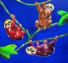 Just Hangin' acrylic on canvas Canvas, Artist, Painting, Fictional Characters, Tela, Artists, Painting Art, Canvases, Paintings