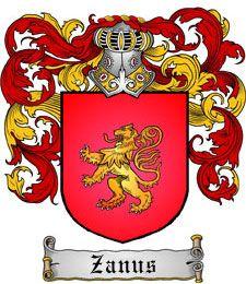 Brasão da Família Zanus
