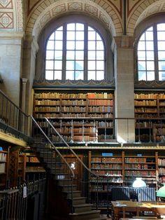 ❦ France, Paris, Bibliothèque Sainte Geneviève by Balavenise.