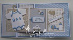 Gemaakt met collectables rompertje Marianne Design Designer Baby, Marianne Design, Altenew, Penny Black, Baby Cards, Baby Design, Cardmaking, Scrapbooking, Frame