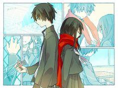 Shintaro and Ayano [Kagerou Project]