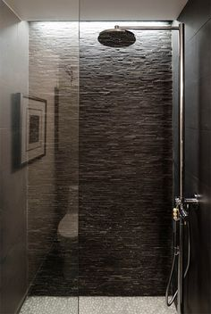"modern shower room design inspiration bycocoon.com | sturdy stainless steel bathroom taps | shower sets ""MonoSet"" ""Rain25"" by COCOON 