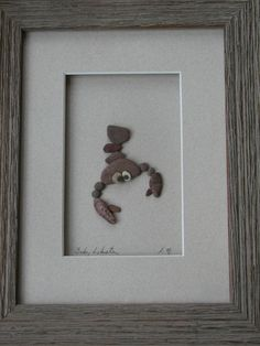 any beach pebbles you need to craft with? lobster pebble art@Monica Harman
