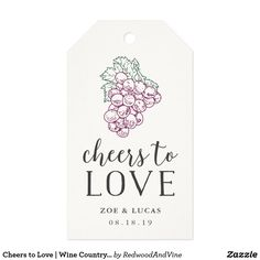 Wine Country Wedding Thank You Favor Gift Tags Country Wedding Favors, Wine Wedding Favors, Country Wedding Invitations, Wine Country, Country Chic, Modern Wedding Theme, Wedding Ideas, Wedding Thank You, Gift Tags