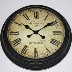 Old clocks.