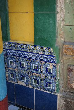 tiles and colors in Cuba