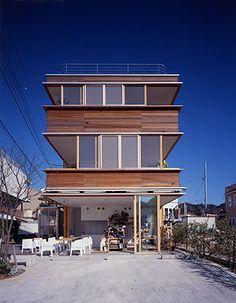 TEZUKA ARCHITECTS Balcony House