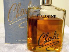 Huge 8 oz. bottle of vintage Charlie cologne. So nice!! - SOLD