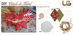 No DIY (faça você mesma) de hoje sugerimos a Estrela de Natal para decorar a sua árvore! Sugerimos os tecidos Frosty Season que pode adquirir no site: http://www.luisguarda.pt/produtos/frosty-season