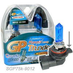 GP THUNDER 7500K 9012 HIR2 PX22D Xenon Head Light Bulbs For Dodge Chrysler Fiat #GPTHUNDERNET