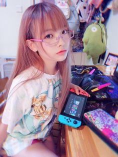 Twitter Beautiful Japanese Girl, Beautiful Asian Girls, Beautiful Children, School Girl Japan, Japan Girl, Asian Cute, Cute Asian Girls, Real Gamer Girl, Girls Twitter