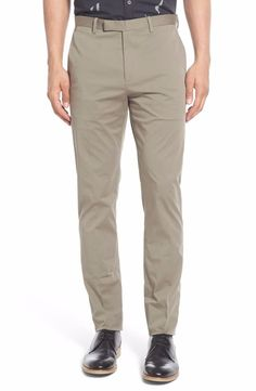 Theory Men's Zaine Sidewalk Slim Fit Stretch Chino Pants Trousers 33x34 NWT $225 #Theory #CasualPants