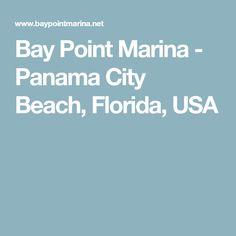 Bay Point Marina - Panama City Beach, Florida, USA