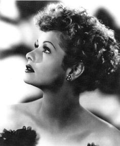 Lucille Ball. Is it just me, or does Debra Messing	bear a striking resemblance?