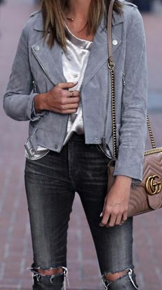 suede jacket style