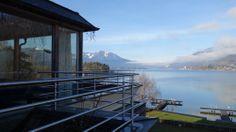 http://yi.io/1fXJuru - Terrasse am #Seehotel Brandauers #Villen am #Wolfgangsee. #666note