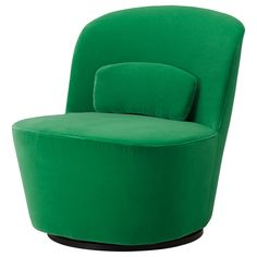 would be perfect transition piece in open floor plan from dining to living stockholm swivel easy chair sandbacka green ikea
