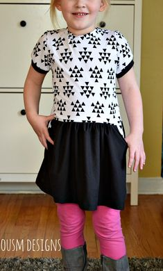 cecilia dress pattern and tutorial. Free PDF top and dress pattern sizes 12 month- 8 years