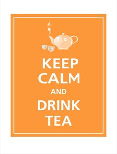 I had a conversation with my dad about the 'keep calm' sign this morning - then found this one on here!