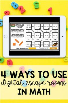 Escape rooms are an amazing tool to increase student engagement! Digital escape rooms can be used as a whole group math activity, in small group instruction, as a math center, and in virtual breakout rooms. Help make math more fun for your students by trying out a digital escape room while you are teaching remotely!