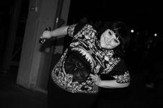 Beth Ditto arrivant au défilé Givenchy automne-hiver 2014-2015 http://www.vogue.fr/mode/inspirations/diaporama/fashion-week-paris-les-coulisses-automne-hiver-2014-2015-jour-6-fw2014/17807/image/978414#!beth-ditto-arrivant-au-defile-givenchy-automne-hiver-2014-2015
