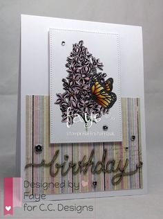 DoveArt Studios: Lilac and Butterfly
