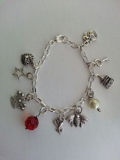 Personalised Woman of God charm bracelet