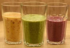 Indítsd be az emésztésed egy reggeli smoothie-val! Healthy Meal Prep, Healthy Drinks, Healthy Recipes, Chia Puding, Fruit Smoothies, Paleo, Food And Drink, Health Fitness, Cooking Recipes