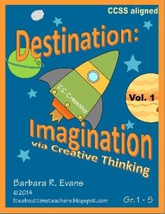 Students share projects and ideas with a purpose. A wonderful home-school connection that promotes creative thinking. Perfect for enrichment. $   #enrichment #creativethinking #gifted #BarbEvans #itsabouttimeteachers