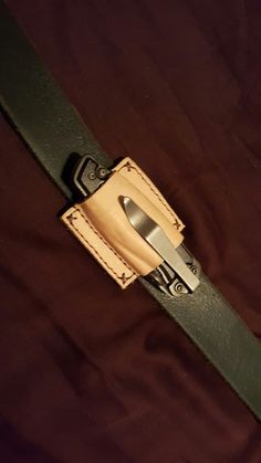 Custom EDC pocket knife holster diy homemade