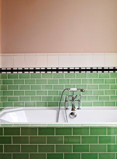 Maybe you think you're bored with subway tile — but have you seen how great it looks in colors? This humble, versatile and ubiquitous tile suddenly takes on a whole new aspect when rendered in different colors (and materials). Here are some of our favorite examples of subway tile in a rainbow of colors.