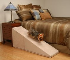 Puppy Stairs Ramps Help Prevent Injury For Dogs And Cats That Are Small,  Old,