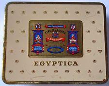 Alte Zigarettendose EGYPTICA 20 Zigaretten Kyriazi Freres