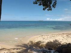 L'île aux Canards en face de la plage de l'Anse Vata à Nouméa - Nouvelle-Calédonie