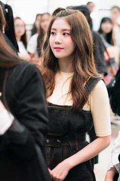 Kwon Eunbi Kpop Girl Groups, Kpop Girls, Yuri, Japanese Names, Japanese Girl Group, Woollim Entertainment, Pinafore Dress, The Wiz, Our Girl